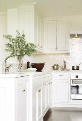 סינר פנינה במטבח