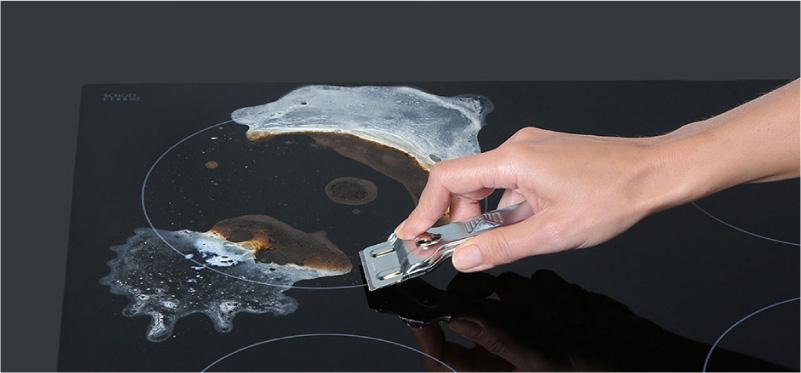 Üvegkerámia tisztítása