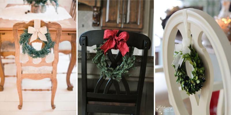 תפאורה של כיסאות לשנה החדשה