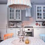 Eski Moskova tarzı mutfak iç