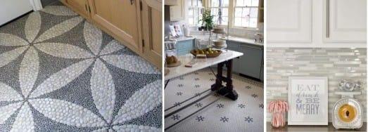 mozaikové podlahy a zástěry