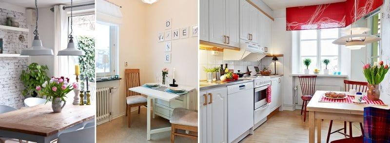Décoration de fenêtre de cuisine de style scandinave