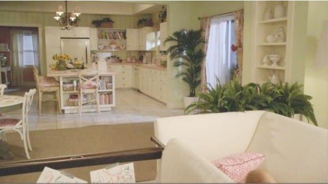 A belsőépítészet a sorozat Cougar Town - Ellie