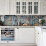 L-formet køkken på 10 kvadratmeter. m