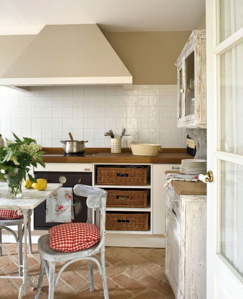 Intérieur de cuisine provençale