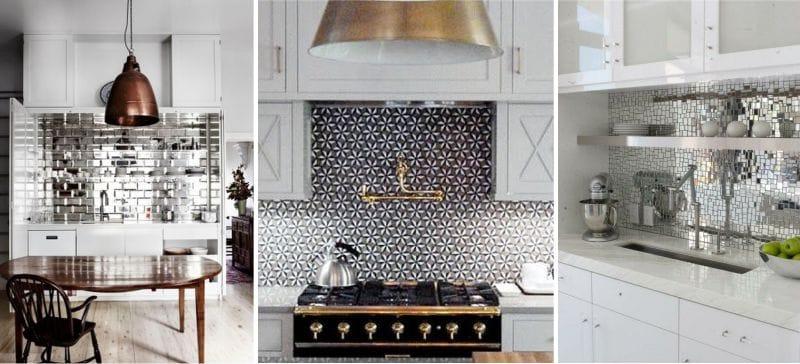 delantal de cocina moderna