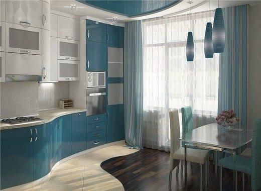 Moderne à l'intérieur de la cuisine