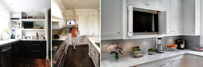 Milyen magasságban tegye a TV-t a konyhába