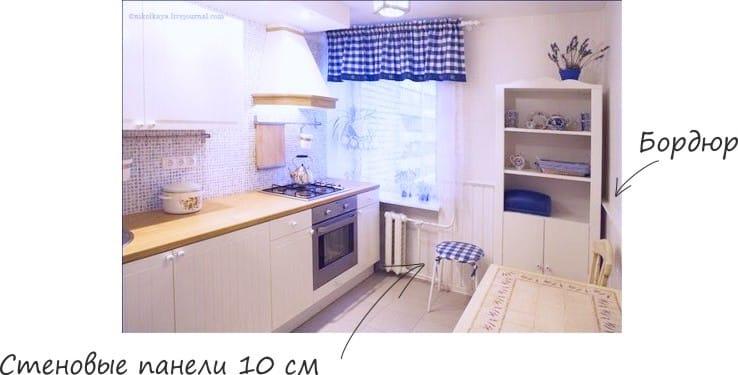 Fali burkolatok a konyhában