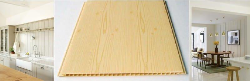 PVC fali panelek