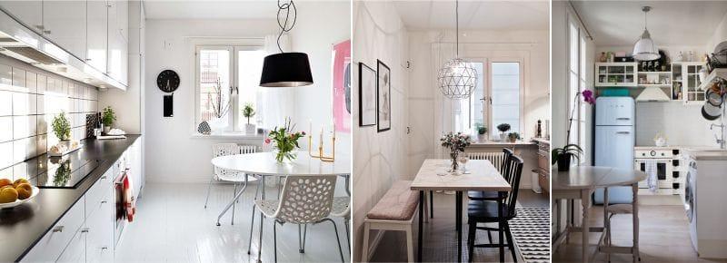 Lampes de style scandinave pour la cuisine