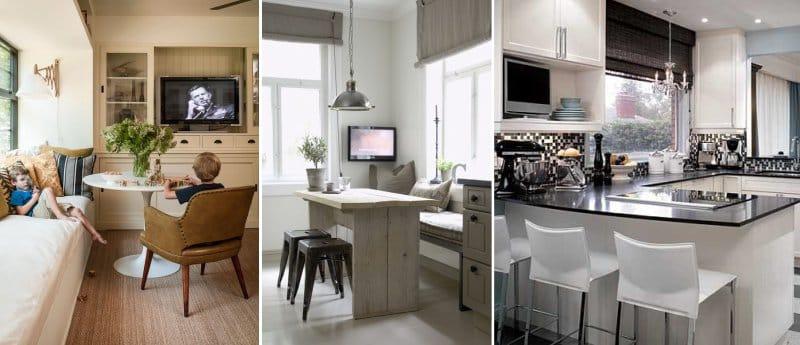 TV in cucina - idee e regole di posizionamento, consigli ...