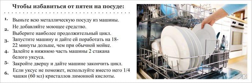 Mitä jos astianpesukoneessa pesemisen jälkeen astiat likaantuvat