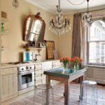 Hiasan dapur bergaya Provence