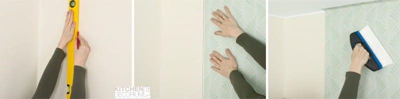 Hogyan ragasztó tapéta a konyhában a saját kezével - az elején