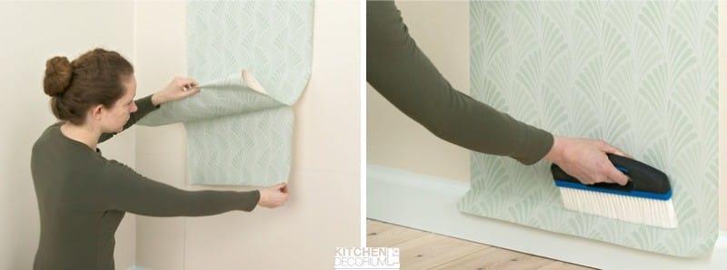 Hogyan kell ragasztani tapétát a konyhában saját kezével - 2. lépés