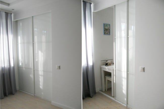 Konyha 5,7 m2 M tolóajtóval - Lakobel ajtók a szekrény típusán