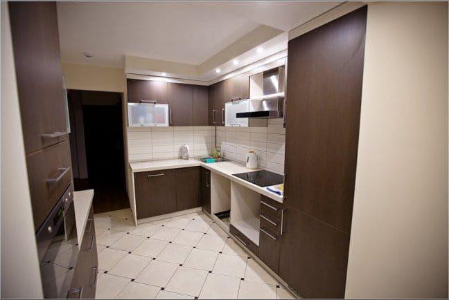 Erkély konyhával - kilátással a konyhára