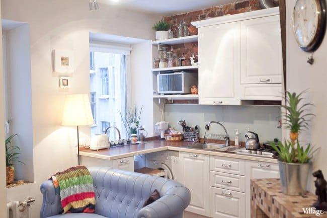 Egy kis lakás felújítása a régi raktárban - konyha