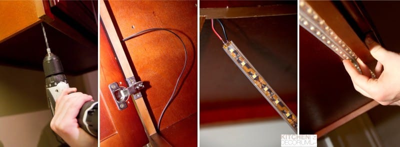 מטבח LED תאורה אחורית LED
