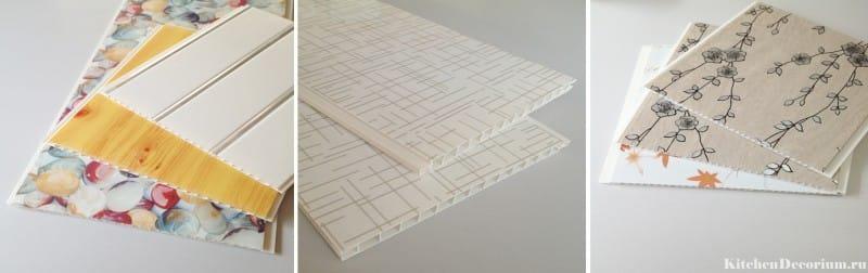Panneaux de PVC à motifs