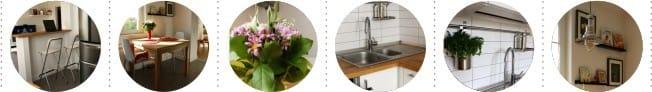 Javítson ki egy kis konyhát partícióval - részletek