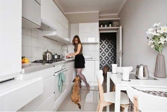 Könnyű tapéta a konyhában
