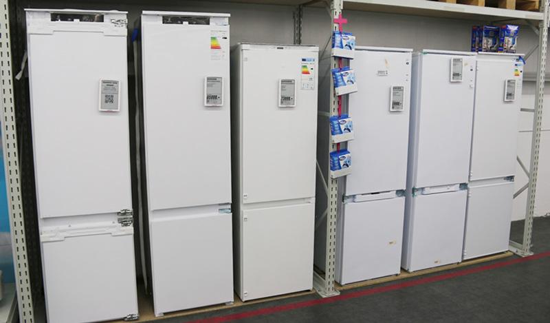Sisäänrakennettu jääkaappi