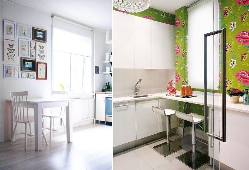 תריסי רולר לבנים במטבח