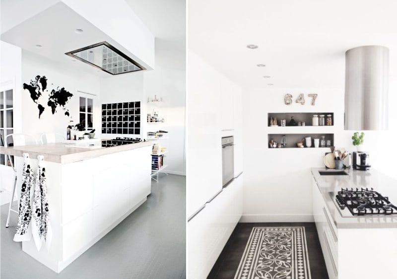 עיצוב מטבח עם אי בסגנון סקנדינבי