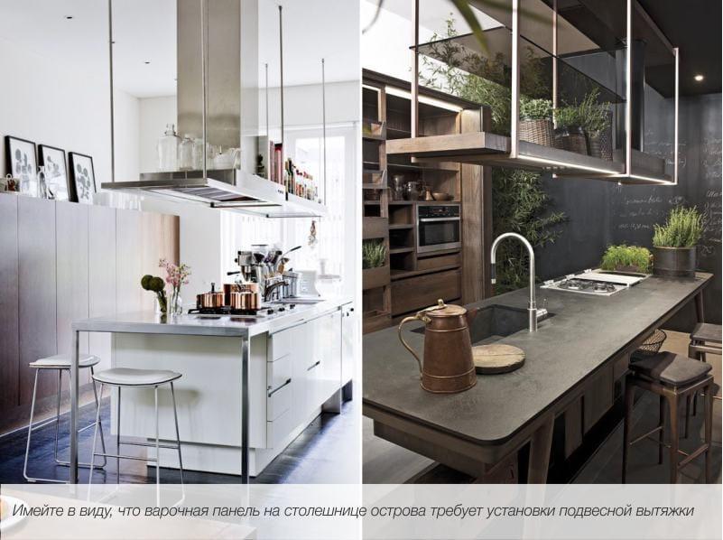 אי במטבח הוא דוגמה סט שלם.