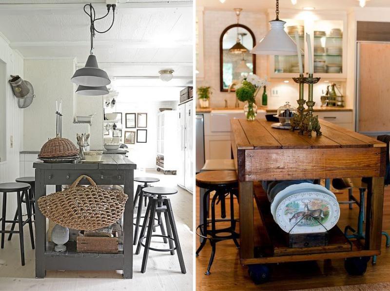 האי במטבח - מדינה בסגנון, פרובנס, Chebbi שיק, כפרי