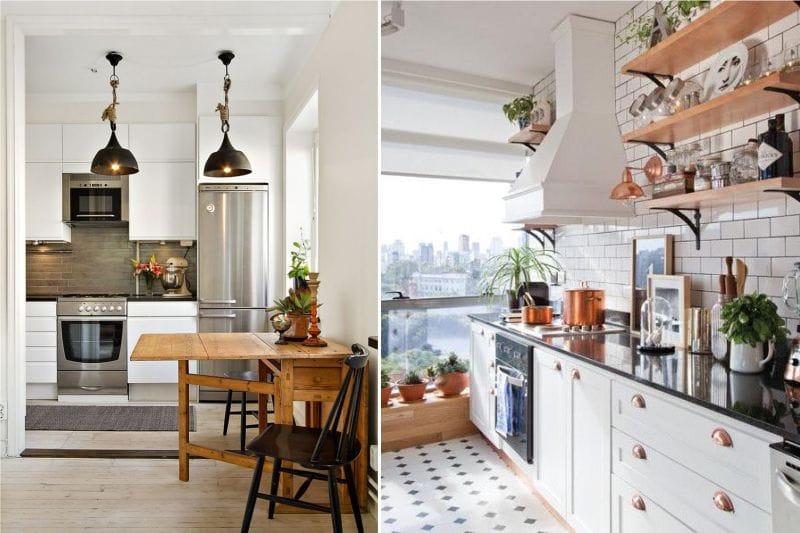 Laitokset keittiön sisätiloissa