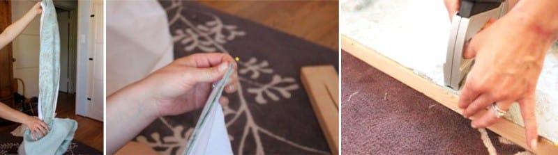 Coudre un simple lambrequin de vos propres mains - travaux de finition