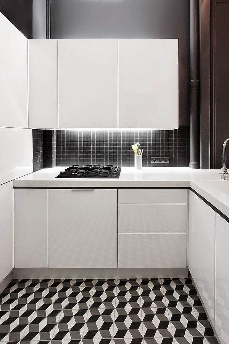 Dapur hitam dan putih