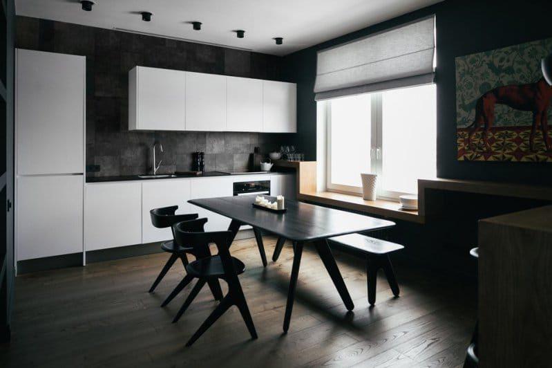 Kuchyňská výzdoba ve stylu minimalismu