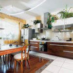 Kombinált konyha padló