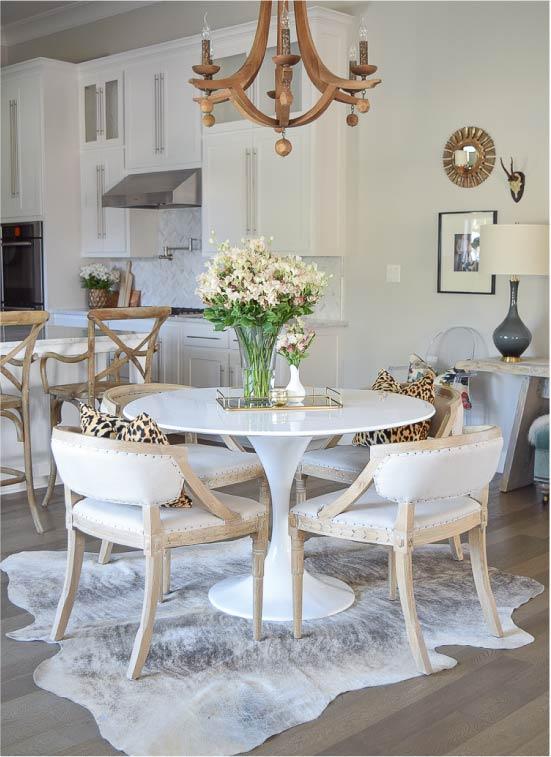 Szőnyeg a konyha-étkező-nappaliban