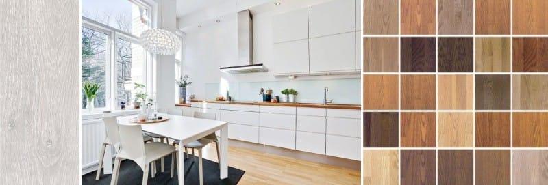 Stratifié dans la cuisine - le choix du design