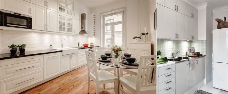 Lampes de meubles pour la cuisine