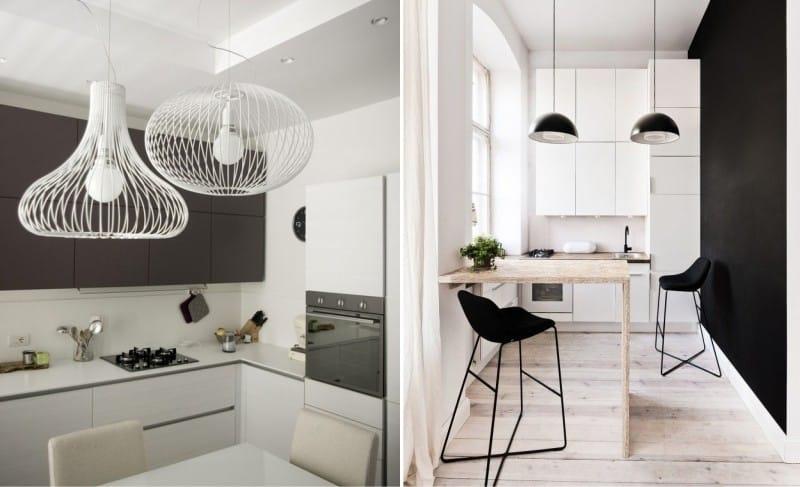Minimalismus kuchyňské osvětlení