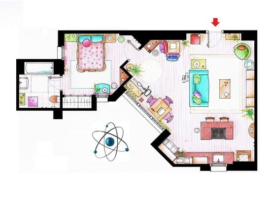 Penny's Apartment Plan