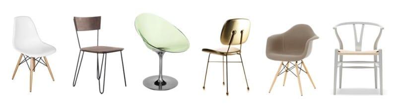 Židle pro kuchyň ve stylu minimalismu
