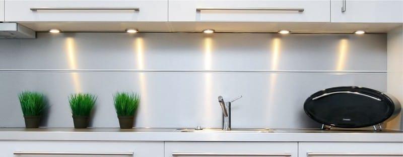 Spot d'éclairage de cuisine