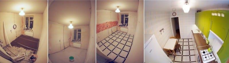 Gres porcellanato per il pavimento in cucina - scegli ...