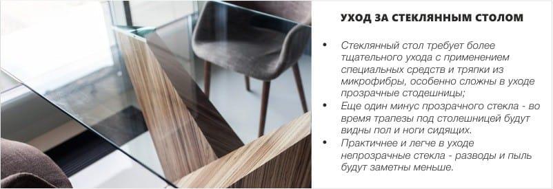 טיפול שולחן זכוכית