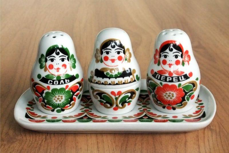 Sisustus keittiölle Venäjän maan tyyliin