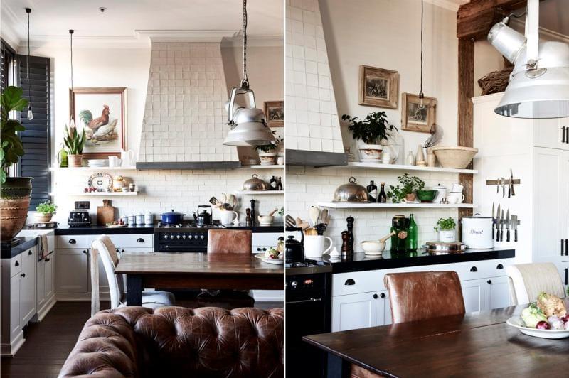 Country Style tai Provence Kitchen Decor