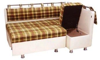 Køkken sofa som en seng