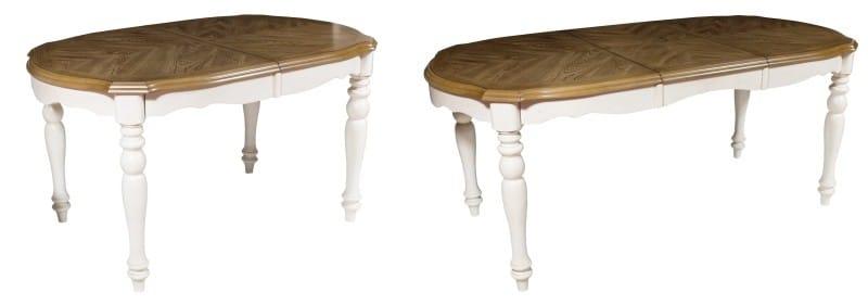שולחן קיפול סגלגל עבור 4-8 אנשים